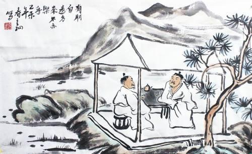 鸡鸣山下桥     赵秉文