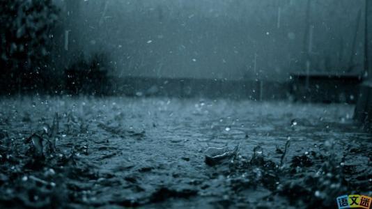 下雨天,真好