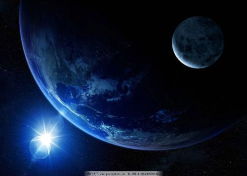 日月星宿也连成一线